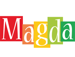 Magda colors logo