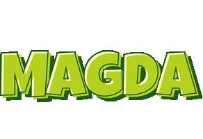 Magda summer logo