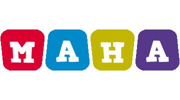 Maha kiddo logo