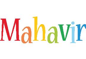 Mahavir birthday logo