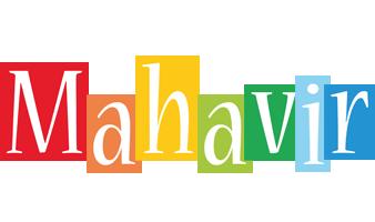Mahavir colors logo