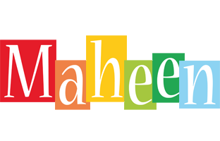 Maheen colors logo