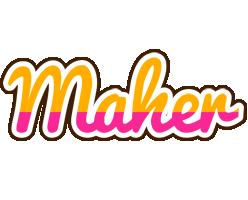 Maher smoothie logo