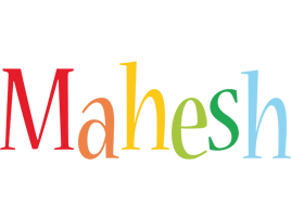 Mahesh birthday logo
