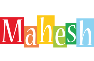 Mahesh colors logo