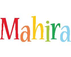 Mahira birthday logo