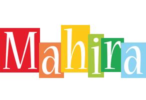 Mahira colors logo