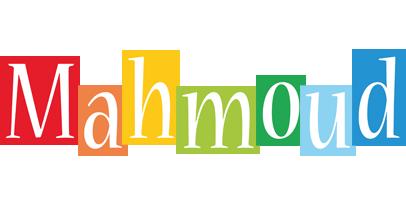 Mahmoud colors logo