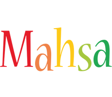 Mahsa birthday logo