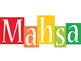 Mahsa colors logo