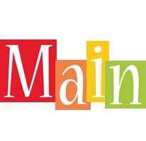 Main colors logo