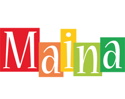 Maina colors logo