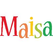 Maisa birthday logo