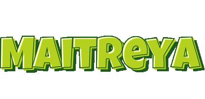 Maitreya summer logo