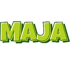 Maja summer logo