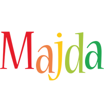 Majda birthday logo