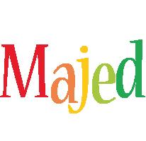 Majed birthday logo