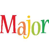 Major birthday logo