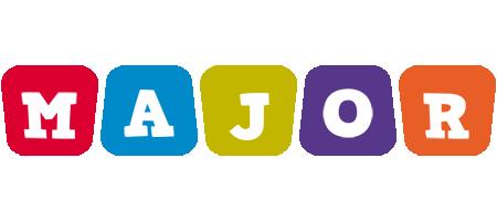 Major kiddo logo
