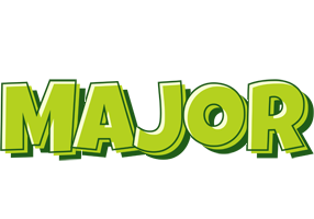 Major summer logo