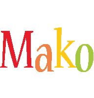 Mako birthday logo