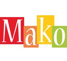 Mako colors logo