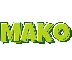 Mako summer logo