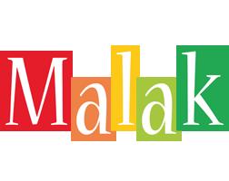 Malak colors logo