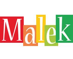 Malek colors logo