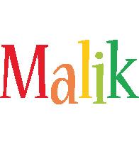 Malik birthday logo