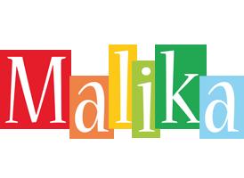 Malika colors logo