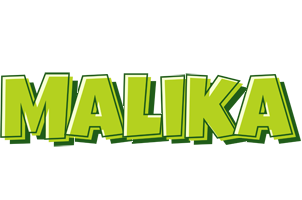 Malika summer logo