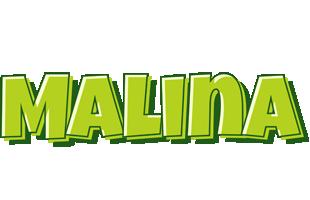 Malina summer logo