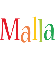 Malla birthday logo