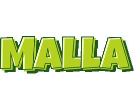 Malla summer logo