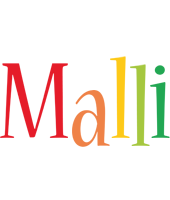 Malli birthday logo