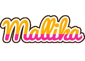 Mallika smoothie logo