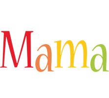 Mama birthday logo