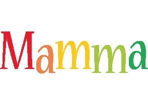 Mamma birthday logo