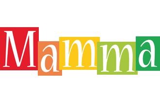 Mamma colors logo