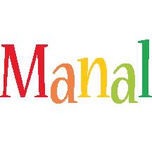 Manal birthday logo