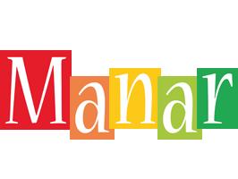 Manar colors logo