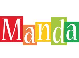 Manda colors logo
