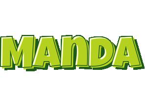 Manda summer logo