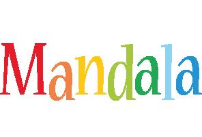 Mandala birthday logo