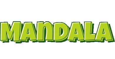 Mandala summer logo