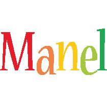 Manel birthday logo