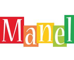 Manel colors logo