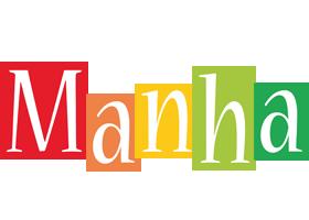 Manha colors logo