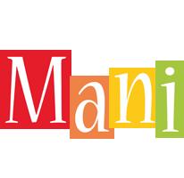Mani colors logo